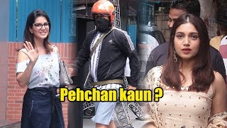 Celebrities Spotted @ Juhu #RakshaBandhan Special   Sunny Leone, Bhumi Pednekar