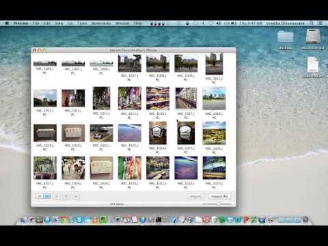 How to copy photos from iPhone to your Mac