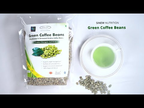 THE PERFECT WAY FOR FITNESS. Sinew Nutrition Green Coffee Beans