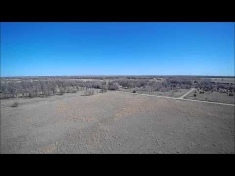 04-30-2016 Enns Land Auction - Aerial Video (158.1 Acres w/ Home in McPherson Co)