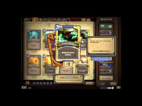 Golden basic set cards for Mage   Hearthstone