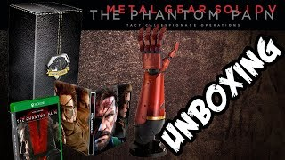 Unboxing / Review - Metal Gear Solid V: The Phantom Pain Collector´s Edition