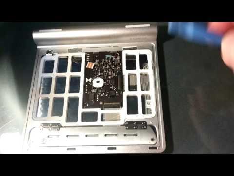 How to fix button in Apple Trackpad / Jak naprawić przycisk w gładziku