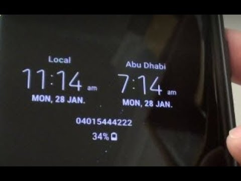 Samsung Galaxy S9: Activate Dual Clock on Always On Display Screen
