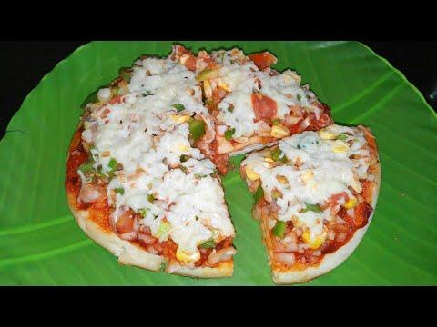Jhatpat Kadai Cheese Pizza | झटपट कडाई पिज्जा | Veg Recipe In Marathi By Asha Maragaje