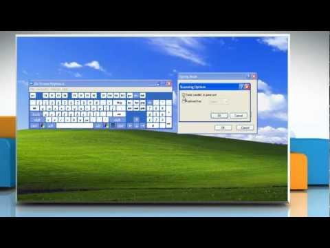 Windows® XP: Customize On-Screen Keyboard