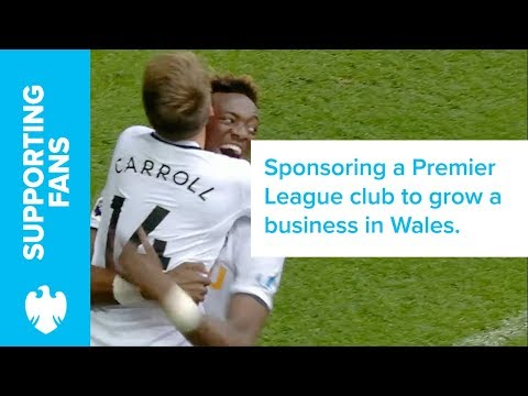 Game changing at Swansea City FC | Barclays UK