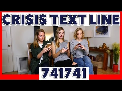 Crisis Text Line - A free, 24/7 text line for people in crisis