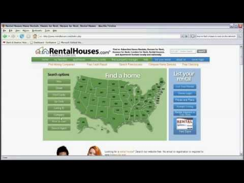 Using the Internet : How to Find a Home to Rent Using the Internet