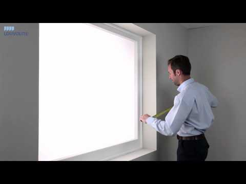 How to Measure & Fit Roller Blinds - By Louvolite