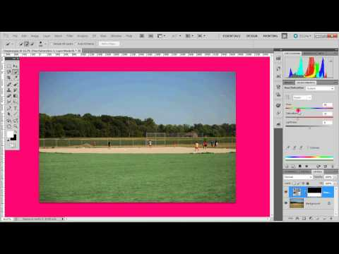 The Green Grass Photoshop Trick (For all dead grass!)