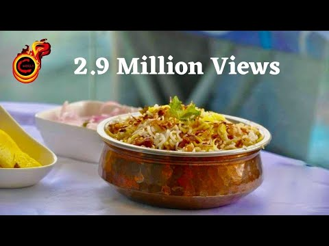 How to Make Kerala Style  Chicken Biriyani (Dum Biriyani ) With Subtitles : Recp no 38