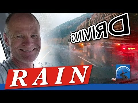 How to Cope with Hydroplaning and Drive in the Pouring Rain | New Driver Smart