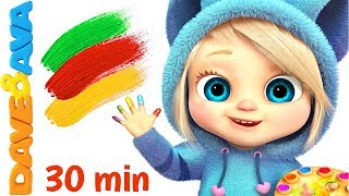 Baby songs finger family colors nursery rhymes for kids learn colors with baby songs and rhymes mp3