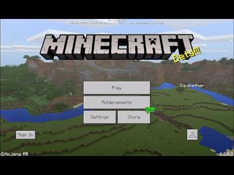 Minecraft Pocket Edition: 1.2 User Interface(Better Together Beta)
