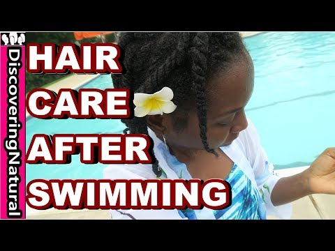 How to Care for Your Natural Hair After Swimming