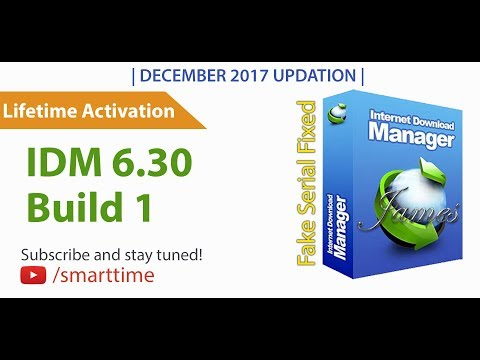 IDM 6.30 Build 1 Full Version | Lifetime Activation | DEC 2017 |100% Working✓| Full Cracked