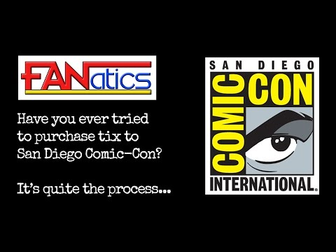 Buying Passes to San Diego Comic Con