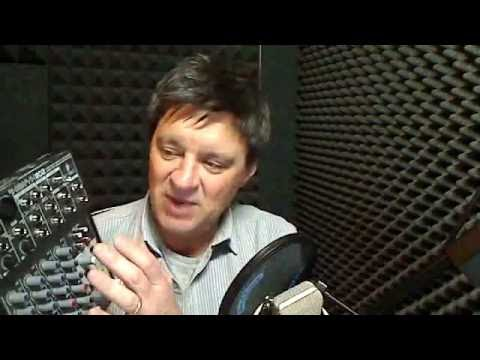 Home Voice Over Studio . . . on the cheap!
