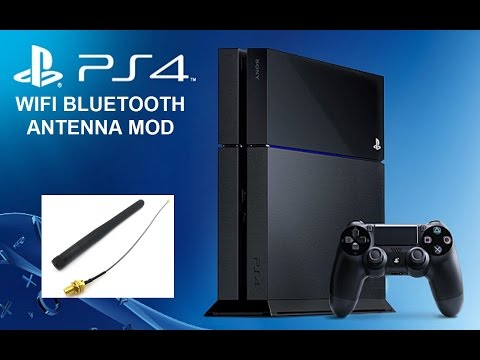 PS4 Bluetooth WiFi Antenna Mod