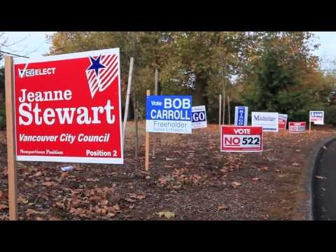 Science behind campaign signs