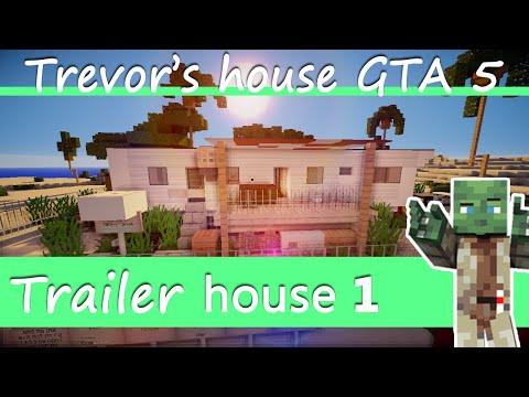 Minecraft Spotlight - Trailer House 1 - Trevor's House from GTA 5