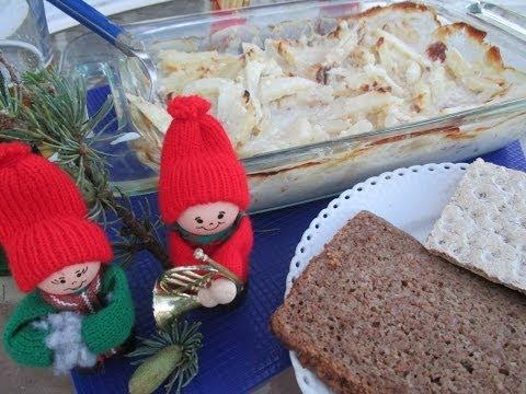 Jansson's Temptation A Swedish Christmas dish - Janssons Frestelse ❅ ❄ ❆