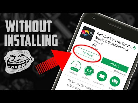 How to use ANY APP without INSTALLING | Play Store Hidden Features | Instant Apps Tutorial