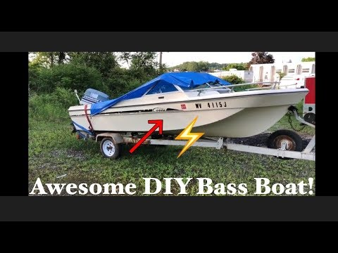 Awesome budget bass boat build part 1