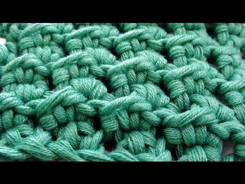 Crochet Crunch Stitch - How to Crochet Crunch Stitch