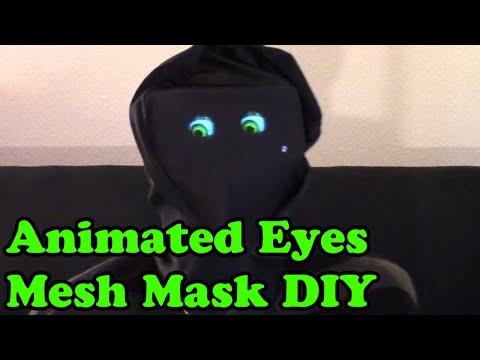 🎃 Animated Eyes Under Mesh Mask (Dr. NOOB's Lab)