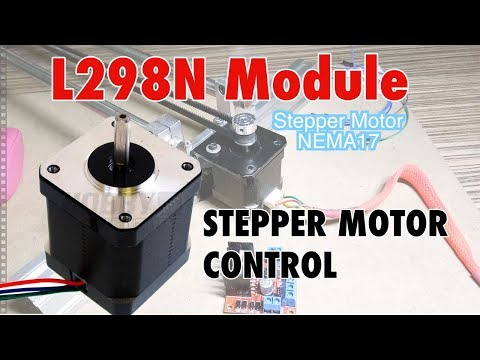 NEMA 17 Stepper Motor Control using L298N Arduino tutorial