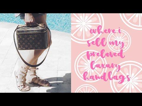 Where I Sell My Luxury Handbags   LalaLV