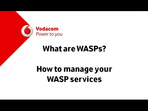 What are WASPs? How To Manage your WASP Services
