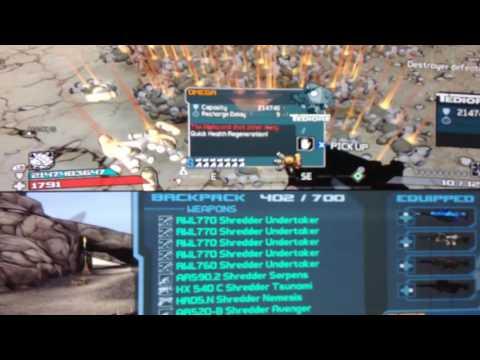 Borderlands modded accounts Xbox 360