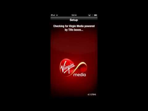 Virgin TV anywhere app for apple devices