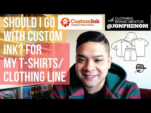 SHOULD I GO WITH CUSTOM INK? FOR MY T-SHIRTS | CLOTHING LINE