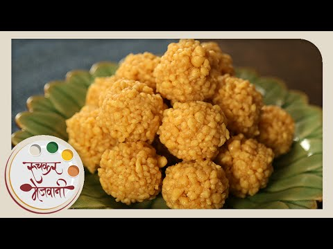 Boondi Ladoo | Soft Motichur Laddu | Recipe by Archana in Marathi | Indian Sweet Dessert