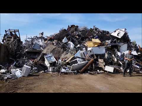 Scrap metal clean up- field trip!