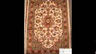 pakistan  hand knotted carpets silk and wool