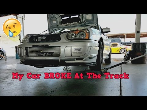 My STi BROKE At The Track!!! TWS Track Weekend
