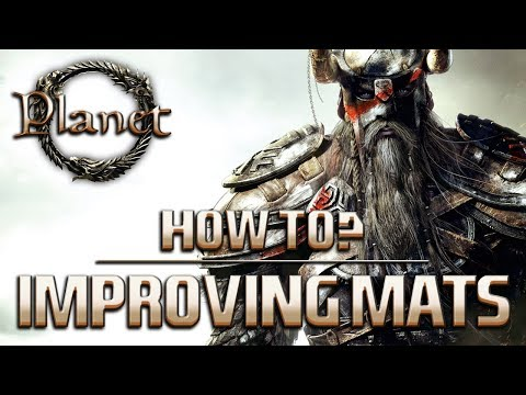 Elder Scrolls Online (ESO) - Improving Materials (Honing Stone, Dwarven Oil...)
