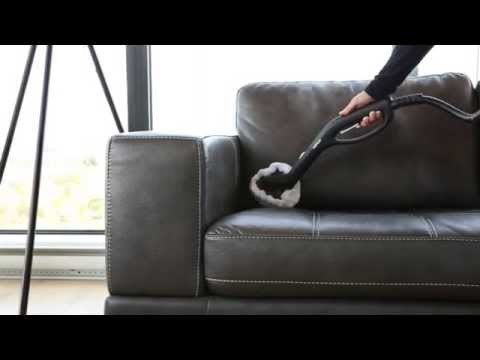 How to Clean a Leather Sofa with a Steam Cleaner