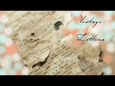 DIY Vintage Letters