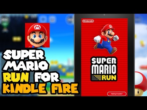 Install Super Mario Run to the Kindle Fire Tablet