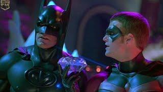 Batman and Robin on ice   Batman & Robin