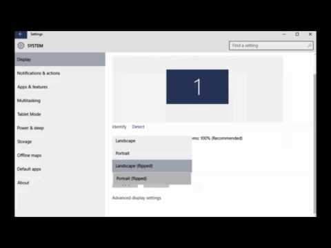 How To Rotate the Screen In Windows 10 - Howtosolveit
