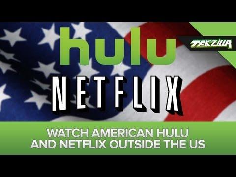 Unblock American Hulu and Netflix Overseas!