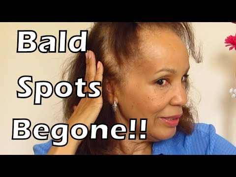 How to Cover Bald Spots and Make Your Hair Look Thicker | Mature Beauty