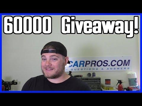 60K Subscriber Giveaway!